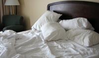 Astma? Może spróbuj nie ścielić rano  łóżka ….